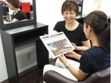 ヘアカラーショップ ダイエー京橋店(Hair Color Shop)の雰囲気(1人1人へのカラーのカウンセリングも丁寧♪)