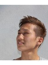 ブラウンヘアーデザイン(BROWN hair design)ツーブロックショートスタイル