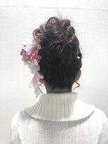 アドゥーヘア ヴィス(A do hair vis)成人式お団子ヘア
