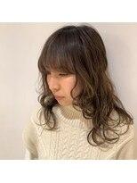 ネオヘアー 京成曳舟店(NEO Hair)外ハネネオウルフ【京成曳舟】