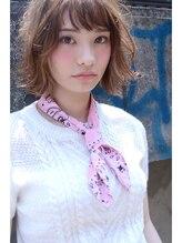 """ミラバイグリーン(Mira by green)""""Loose Bob""""×【cinnamon beige】#1"""