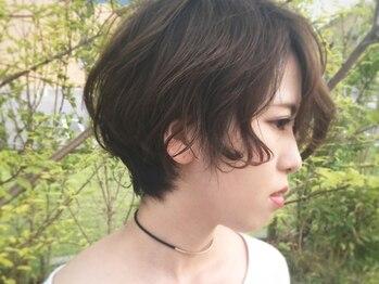 ツクル(TSUKURU)の写真/作りこみすぎない自然なデザインで、どこから見ても綺麗なシルエットのショートスタイルが叶います☆