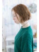 ミック ヘアアンドビューティー 大山店(miq Hair&Beauty)無造作エアリーボブの外国人風カラー☆