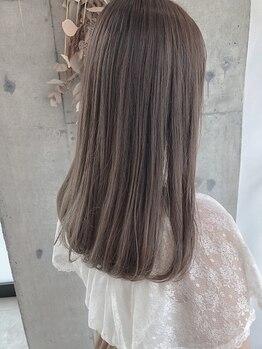 ヘアーデザイン リマ(Hair Design Lima)の写真/透明感×ダメージレスカラーが人気!もちが良く、お洒落が長く楽しめる暗くて透ける外国人風カラーが人気◎