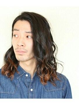 出展 men\u0027s×ロングパーマ風:L004521505|ヘアメイクサロンチュッパ(hair make salon chupa  TOKYO)のヘアカタログ|ホットペッパービューティー