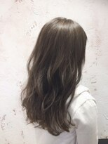 ヘアーサロン リアン 鴻巣店(hair salon Rien)新色フォギーベージュ×ブルー クリアカラー