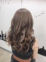 ヘアーサロン エール 原宿(hair salon ailes)(ailes 原宿)style456   セピアハイライト☆くびれセミディ