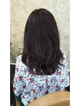プリエール ド ランジュの写真/トリートメント・ビタミン配合のパーマなので、ダメージレス◎髪に負担をかけない優しいエアーウェーブ♪+.