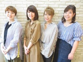 メリーランド 日吉(MerryLand)の写真/【日吉】髪のお悩みを女性ならではの繊細なアドバイスで解決しませんか?