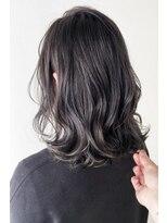 マックスビューティーギンザ(MAXBEAUTY GINZA) ナチュラルウェーブイルミナアッシュロブヘア☆銀座/髪質改善