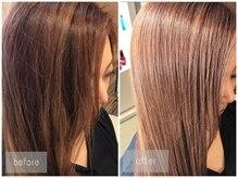 ロッカ ヘアーイノベーション(rocca hair innovation)の雰囲気(前髪の縮毛矯正も人気◎気になるところもポイントで対応*[稲毛])