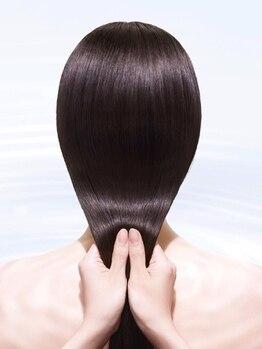 ヘアーデザインスペース リプル(hair design space Ripple)の写真/県内10サロンしか取扱えない<資生堂サブリミック>ご用意!話題の酸熱Trで1人1人にフィットした理想の質感へ*