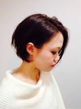 リズ ヘア メイク 香里園駅前店(Liz hair make)ナチュラルなのに目をひく ゆるやかワンカールボブ