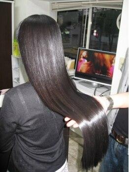 ヘアクラブリューズ フォアキングアンドクウィーン(HairClub RYU's for King&Queen)の写真/1万人がビックリした☆【M3Dストレート】ダメージが気になる方の最適ケアシステムです♪