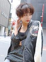 アルバム シンジュク(ALBUM SHINJUKU)ラフマッシュ_セミウェットウェーブハイライトカラー_96882