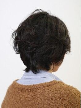 アンノンスタイルの写真/薬剤にもこだわり、髪に優しいオーガニックカラーを使用☆髪を労わりながらお得に変身できる!!