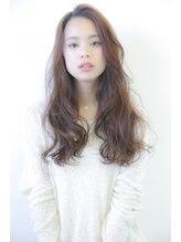 アンドファインヘアービューティー(AND FINE hair beauty)★かきあげ前髪★ゆるふわロング