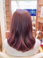 ビギン ヘア Begin hairローズピンクカラー