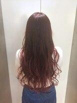 ヘアサロン ドット トウキョウ カラー 町田店(hair salon dot. tokyo color)【rose pink11】ブリーチグラデーションカラーリスト田中 #町田