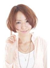 ヘアデザイン ヴォワール(hair & design voir)voir ふわゆれバルーンボブ ×SUGI