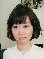 キーナ(Organic Hair KI-NA)伸ばしかけボブにぴったりパーマ☆