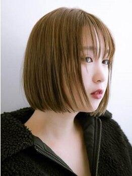 ジーテ(gite)の写真/まるでTVのCMのようなさらさらな美髪を。潤いたっぷりのしっとり縮毛ならgiteにおまかせ☆「gite綱島」