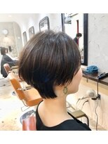 エトネ ヘアーサロン 仙台駅前(eTONe hair salon)30代、40代、50代 ふんわり+くびれ+透明感のある髪色