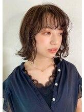 カーフリヘア ウル(Kahuli hair Ulu)濡れ髪× 切りっぱなしボブ【RYUKA】