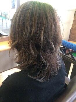 レイズ ヘアープレイス(Raise hair place)の写真/あなたのなりたいが叶う☆一人一人の雰囲気・髪質に合わせたパーマスタイルを提案させていただきます。