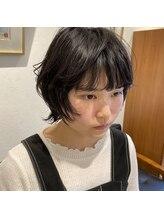 アルマヘアー(Alma hair by murasaki)可愛いマッシュウルフスタイル◎