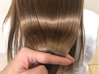 ヘアー フレイス メイク(Hair Frais Make)の写真/★Aujuaソムリエ在籍!厳選された大人気トリートメント【Aujua】で、傷み、乾燥にも負けないうるツヤ髪へ♪
