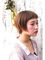 マルカ(marca)【marca】 エアリーショートで小顔ひし形シルエット♪担当:三上
