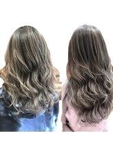 髪再生イルミナorアデイクシーとオージュアトリートメントで色持ちアップしましょう☆ ¥7700/吉祥寺