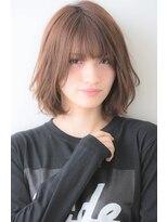 ユーフォリアギンザ(Euphoria GINZA)ふんわりデジタルパーマ☆クラシカルミディボブ 担当畑