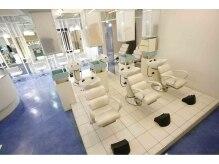 ヘアメイクサロン ブーム ヘアデザイン(boom hair design)の雰囲気(普段は、個室として仕切り癒しのスペースで、アロマの香り!)