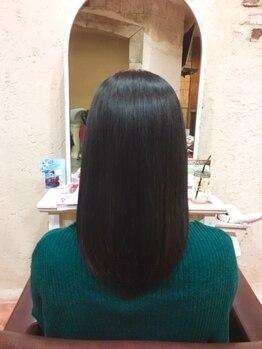 ウォンカヘアー(WONKA hair)の写真/マイクロバブル導入サロン♪《安芸区ではWONKAのみ》高い洗浄力で汚れ、薬剤を落とし、ウルサラな髪に導く!