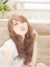 エルヘアーサロン(EL hair salon)【EL hair salon 千葉】 斜めバング×フェミニンロング