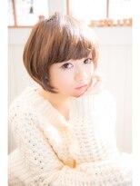 【miel hair bijoux】主役級のガーリーショート