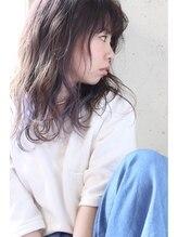 ニノン(ninon)【阿倍野ninon】インナーカラー×ウェット質感ミディアム