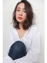 ハロ (Halo hair design)大人ロブ×ウェットスタイル