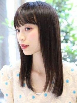 ヘアーメイクミキ 上野本店(hair make MIKI)の写真/《まるでトリートメントのようなストレート》高リピート率を誇るMIKIのストカールで扱い易く柔らかい髪に♪