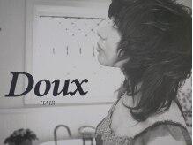 ヘアードゥークス(HAIR DOUX)の雰囲気(可愛い看板が目印♪)