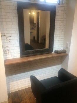 レイズ ヘアープレイス(Raise hair place)の写真/大型サロンが苦手な方にオススメ◎周りの目を気にせず、お客様が居心地の良い空間を心がけております。