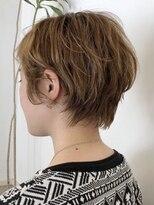 ヘアークリアー 春日部バックラインの丸みがかわいいショートスタイル【hairclear】