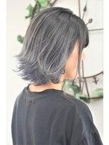ヘアーサロン エール 原宿(hair salon ailes)(ailes原宿)style393 デザインカラー☆外ハネグラデ