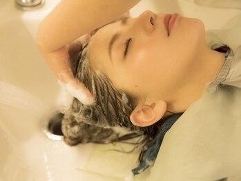 ヘアーアンドリラクシング キャビン(Hair&Relaxing CABIN)の写真/【静岡希少!ヒト幹細胞スパ】育毛促進/ダメージ補修/エイジングケアに◎リラックス×ケアで髪も心も癒して