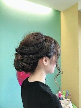 ヘアーサロン ピクニック(hair salon Picnic)アップスタイル