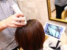ヘアードクター ツルサキ(hair dr.TSURUSAKI)の雰囲気(マイクロスコープで頭皮・髪を細部までチェック。)