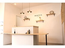 ロッカ(ROCCA)の雰囲気(座りながらお会計できるので、次回のご予約を取って帰る方多数◎)