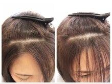 ギグル(giggle)の雰囲気(【ヘアリセッターで髪質改善】気になる前髪の生えグセ治します)